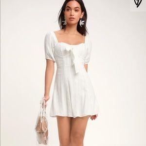 Lulus Madeline White Dress